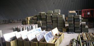 Под Запорожьем был найден огромный арсенал оружия и боеприпасов 4