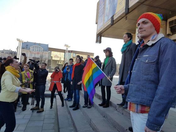 В Харькове прошёл феминистический марш 9