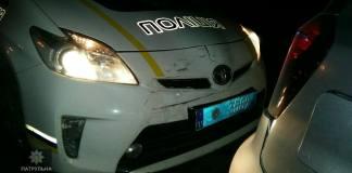 Пьяный водитель дважды за ночь попался полиции и врезался в патрульный автомобиль, уходя от погони 1