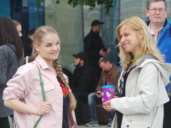 В Харькове прошёл марш вышиванок 4