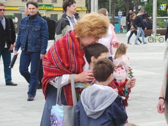 В Харькове прошёл марш вышиванок 13