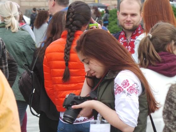 В Харькове прошёл марш вышиванок 14