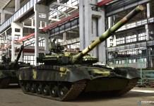 Харьковский завод подготовил для десантников очередную партию танков Т-80