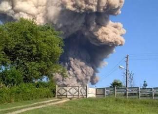 На оккупированных территориях Грузии произошёл взрыв на российской военной базе 1