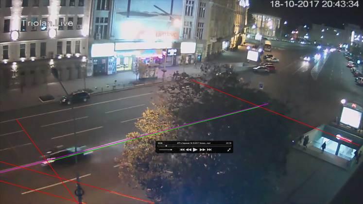Анализ записей с видеокамер: Зайцева двигалась со скоростью более ста километров в час 5