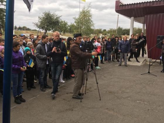 Под Харьковом открыли мемориальную доску погибшему бойцу АТО 2