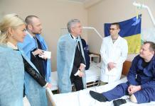 Польша передала медицинское оборудование для Харьковского военного госпиталя