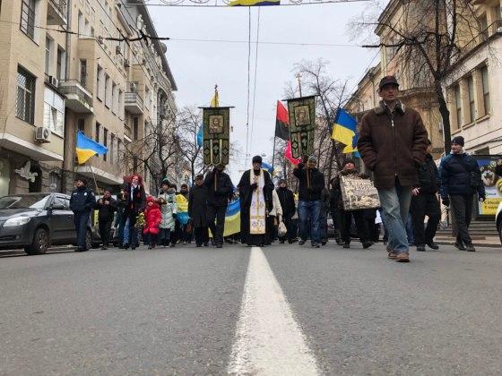 В Харькове состоялось траурное шествие памяти жертв Голодомора 14
