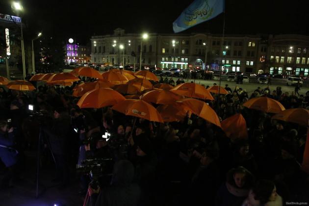 В Харькове состоялся флешмоб против насилия над женщинами 4