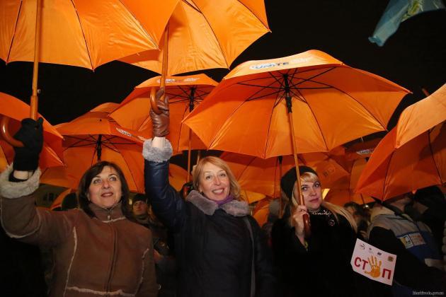 В Харькове состоялся флешмоб против насилия над женщинами 5