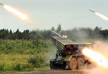 """Обострение на востоке Донбасса: боевики выпустили 247 ракет """"Града"""""""