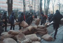 В Харькове разгромили съёмочную площадку сериала о советской военной прокуратуре 1