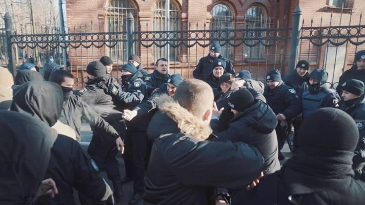 В Харькове разгромили съёмочную площадку сериала о советской военной прокуратуре 7