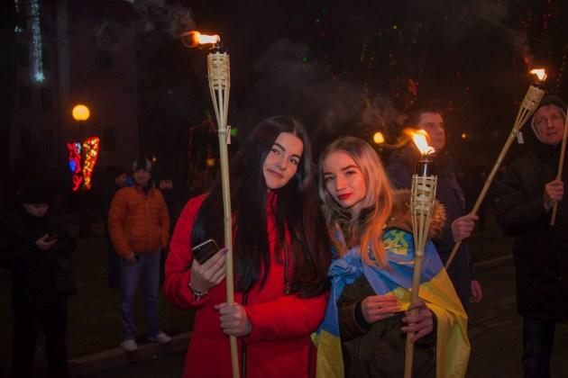 В Украине отпраздновали день рождения Степана Бандеры 6