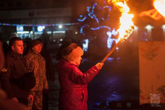 В Украине отпраздновали день рождения Степана Бандеры 3