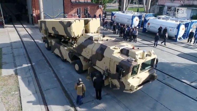 """В сети появились изображения готового к испытаниям украинского ракетного комплекса """"Гром-2"""" 1"""