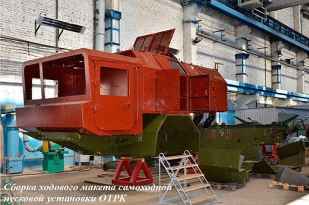 """В сети появились изображения готового к испытаниям украинского ракетного комплекса """"Гром-2"""" 5"""