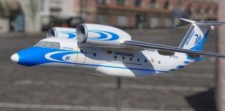 Літак Ан-74 виробництва ХДАВП