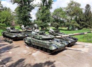 """Танки Т-64, передані ДП """"Харківський бронетанковий завод"""""""