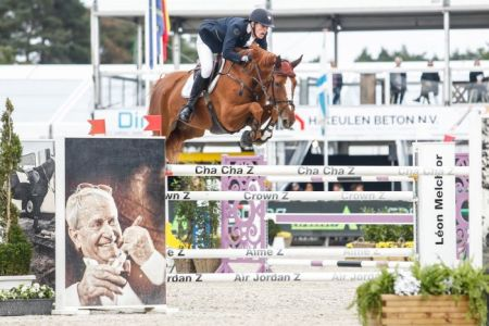 Zangersheide Studbook | Jos Verlooy In Pole Position At The Belgian  Championships