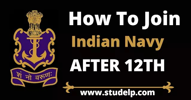 how to join Indian navy after 12th