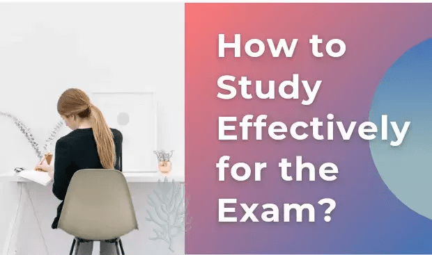 Study effectively for your exam
