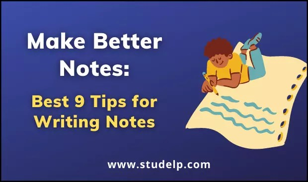 notes writing tips- how to take notes
