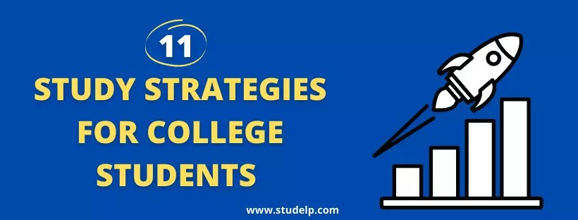 Study strategies for college students
