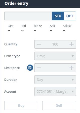 Questrade stock trading