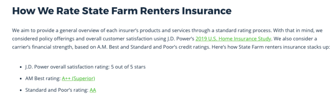 state farm renters insurance customer reviews and complaints