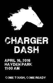 Charger Dash: Come Tough, Come Read