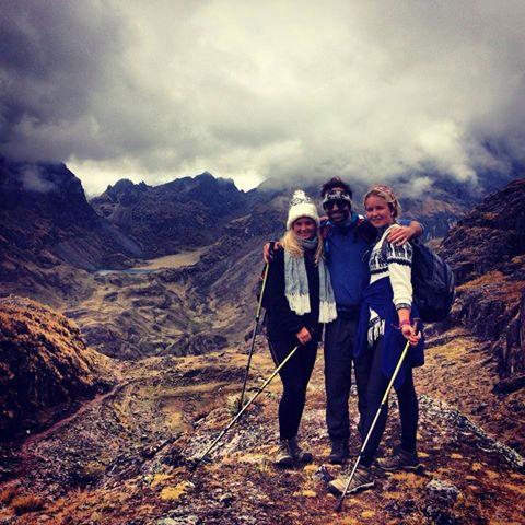 Studentleder i Bodø, Andrea på backpacking