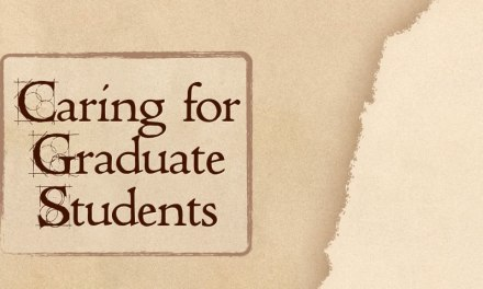 Caring for Graduate Students