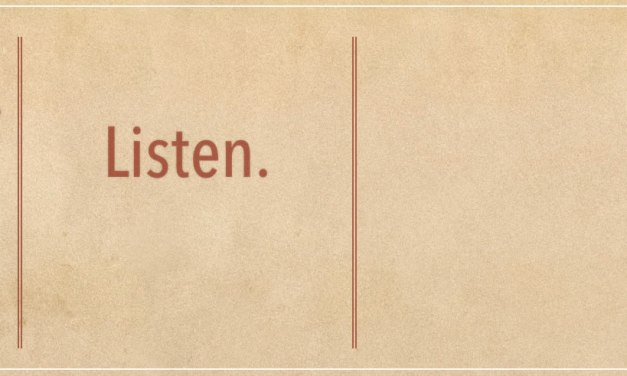 SC 54 Taking Time to Listen