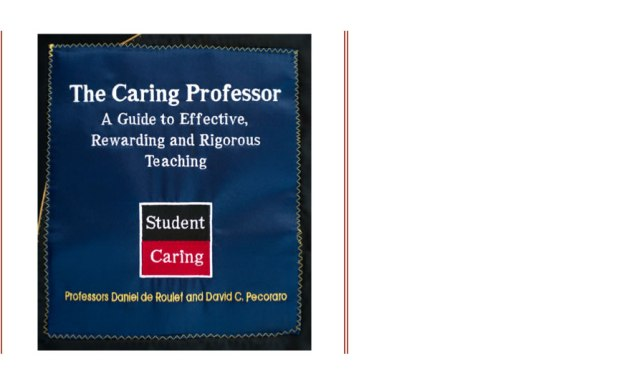 SC 61 The Caring Professor Book is Published!