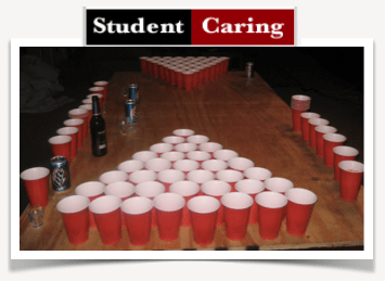 Student Caring | Beer Pong