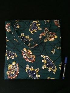 Green Flowers Bag