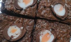 creme egg brownies 3