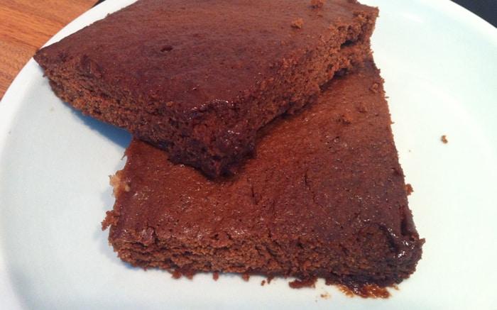 10 minute chocolate brownies