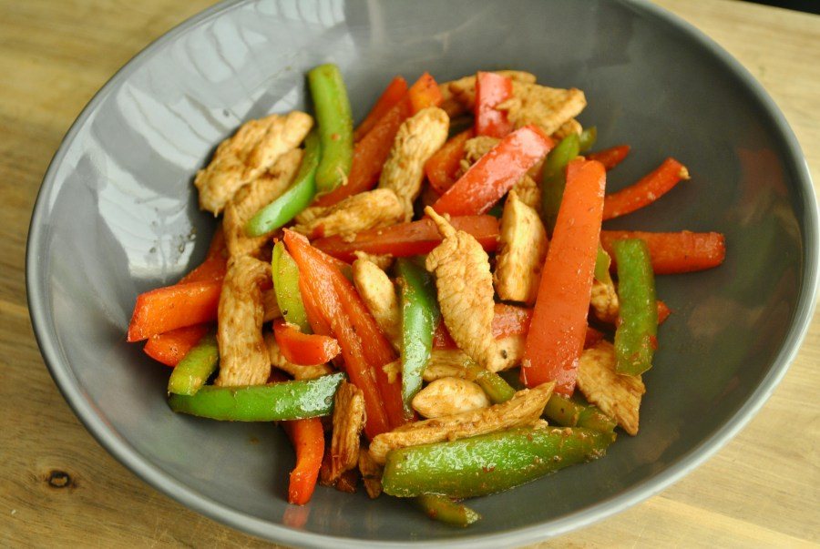 Piri piri stir fry chicken recipe - 2