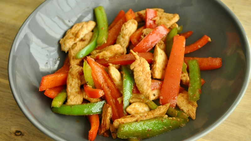 Piri piri stir fry chicken recipe - 2