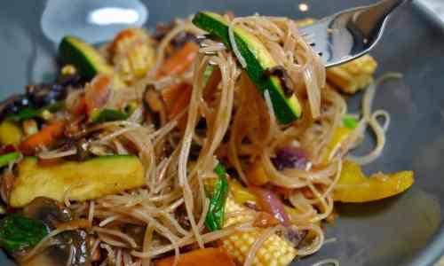 5 A Day Vegetable Vegan Stir Fry Recipe - 1