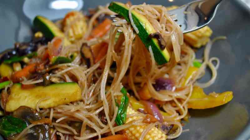 5 A Day Vegetable Vegan Stir Fry Recipe - 1