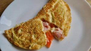 Ham cheese Omelette recipe - 2