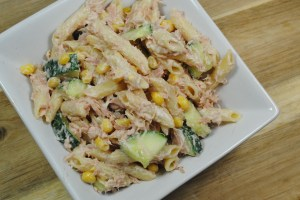 Pasta and Tuna Mayonnaise Salad Recipe - 1