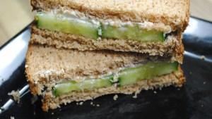 Refreshingly low-fat cucumber sandwich recipe - 2