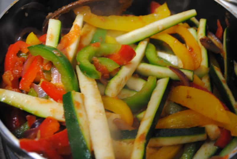 Vegetable fajitas recipe - 1