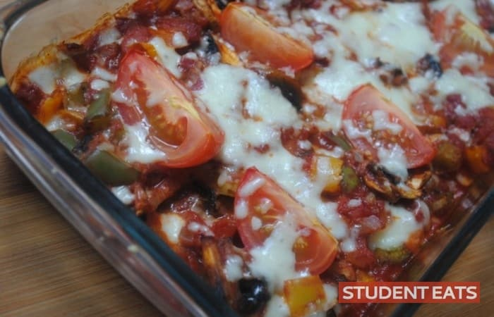 veggie tomato bake recipe 1