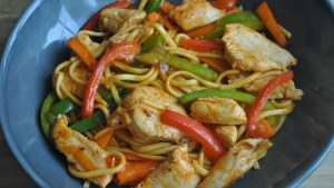 Simple Chinese Noodle Stir Fry Recipe - 1