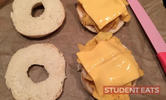 nacho bagel 2